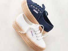 Sneakerdrilles: Die Mischung aus Sneaker und Espadrilles ist der heißeste Schuhtrend