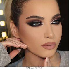 Le maquillage oriental  plein feu sur les yeux ! Maquillage Mariage  OrientalMaquillage Libanais