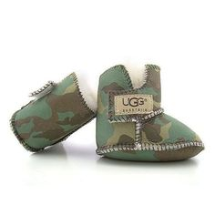Baby camo uggs. Omg...I want these!