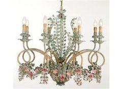 Lampadari in ferro battuto collezione Almary
