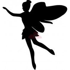 Fairy Silhouette - Cupcake Topper