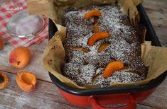 Tízperces mennyei csokis-barackos lepény   Egyszerű finomságok Pudding, Food, Custard Pudding, Essen, Puddings, Meals, Yemek, Avocado Pudding, Eten