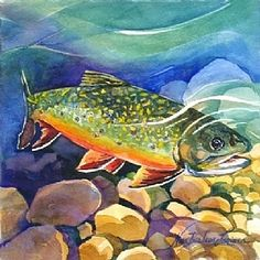 Ripple Effect - Brook Trout Tile, $28.00 (http://www.rippleeffectmarketplace.com/brook-trout-tile/)