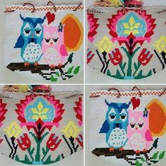 Wayuu Animal, Tapestry Bag, Owl, Kids Rugs, Crochet Bags, Instagram Posts, Flowers, Crochet Purses, Groomsmen