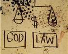 God, Law - Jean-Michel Basquiat