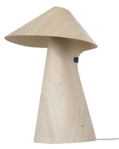 Lampe de table Kino Wood LED by Emmanuel Gardin - Linadura