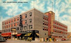 Hotel Coniston & Murray's Restaurant, Sudbury ON Sudbury Canada, Back In The Day, Ontario, Multi Story Building, Louvre, Memories, City, Places, Restaurant