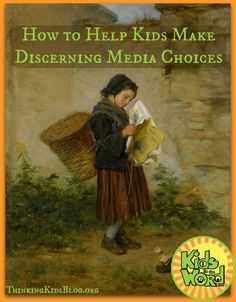 The world our kids are growing up in is full of media. Our children are constantly presented the opportunity to view, read, or listen to a constant diet of material---good and bad. So how do we tea...