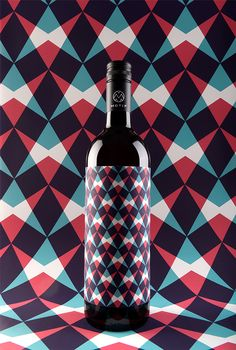 MOTIF Fine Art Wine by Stefan Leitner, via Behance