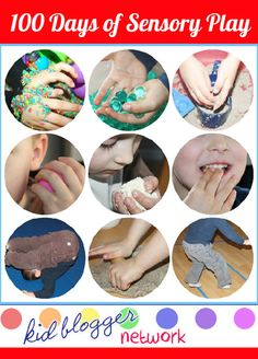 100 Days of Sensory Play