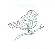 A Nightingale Bird Watching Coloring Page