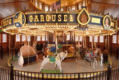 Carousel Graphics | Five Years of the Empire State Carousel in Cooperstown