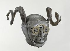 A horned helmet from 1511, presented to Henry VIII by Holy Roman Emperor Maximillion 1.
