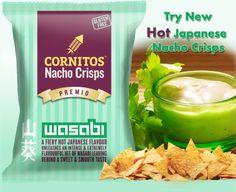 Cornitos Hot Japanese Nacho Crisps