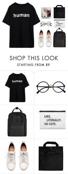 """""""Die Young"""" by itstepna ❤ liked on Polyvore featuring Retrò, Fjällräven, H&M, Polaroid, GET LOST, Black+Blum and polyvorefashion"""