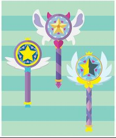 Star's wands