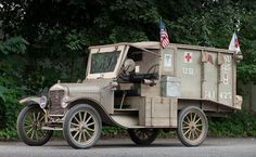 1917 Ford Model T Ambulance WWI