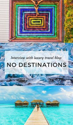 How do travel bloggers make money and do all this travelling????? What's their secret? What are they doing? This interview explains a lot... We had a lovely little chat with the nomadic couple from No Destinations and they revealed how they travel together full time. CHECK. THIS. OUT...