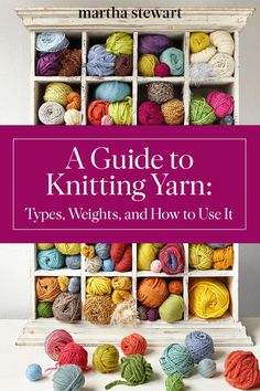 21 Best Types Of Yarn Images Yarns Crochet Patterns Knitting Yarn