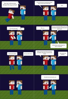 Funny minecraft cartoon, hahaha that would be cool!