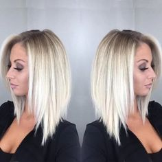 Women's Fashion Bob Hair Ombre Blonde Straighr Wigs for White Women Full Wig Cosplay Party Wig Cplor:(one Color) Short Hair Blond, Blonde Ombre Hair, Ombre Hair Color, Hair Color Balayage, Blonde Wig, Haircolor, Blonde Balayage, Hair Color And Cut, Bob Hairstyles For Fine Hair
