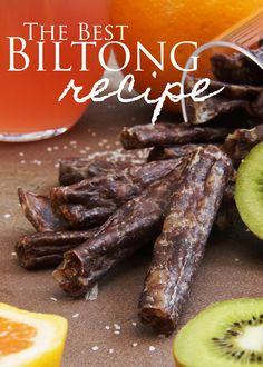 The BEST Biltong Recipe out there, and you don't even have to lift a finger. Biltong Recipe Dehydrator, Homemade Sausage Recipes, Jerky Recipes, Copykat Recipes, Bbq Meat, South African Recipes, Beef Jerky, Venison, Mexican Food Recipes