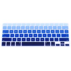 """For Apple Macbook Keyboard Cover 13"""" 15"""" Rainbow Laptop Keyboard Stickers US Version Silicone Skin Protector Covers Colorful-in Keyboard Covers from Computer & Office on Aliexpress.com 