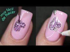 YouTube Nails Decoradas, Nail Tutorials, Nail Designs, Lily, Nail Art, Painting, Youtube, Nail Design, Art Nails