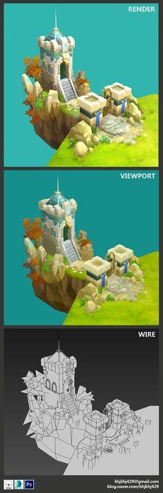 ArtStation - Castle Kingdom_Fan art, Emma Kwon