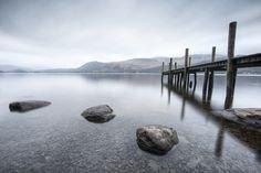 Stones at Brandlehow Jetty, Derwentwater, Lake District