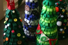 These could be really cute and fun to make with the kids for Christmas.