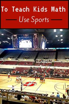 Math projects with sports. Use sports to teach math. Great ideas from @mamasmiles