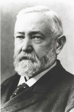 Benjamin Harrison and his wife were terrified of electricity~ When the Edison Company installed electrical wires in the White House in the president, Benjamin Harrison, and his wife refused to touch the light switches for fear of being electrocuted. List Of Presidents, Presidents Wives, American Presidents, American History, Presidential Portraits, William Henry Harrison, John Hay, Benjamin Harrison, Union Army