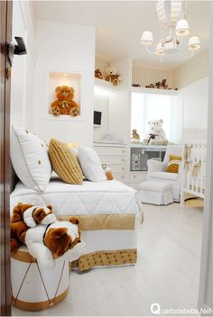 Bring the elegance and luxury to your kids' room with Circu Magical furniture! Check our white inspirations: CIRCU. Baby Bedroom, Baby Boy Rooms, Little Girl Rooms, Baby Boy Nurseries, Nursery Room, Kids Bedroom, White Nursery, Child's Room, Kids Rooms