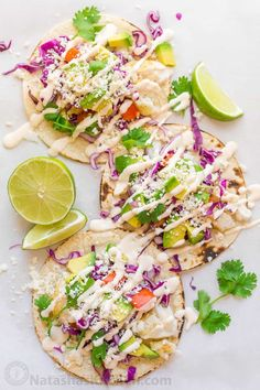 Fish Tacos Recipe with Best Fish Taco Sauce! (Natasha's Kitchen) - Fish Tacos Recipe with Best Fish Taco Sauce! (Natasha's Kitchen) Fish Tacos Recipe with Best Fish Taco Sauce! Slaw For Fish Tacos, Cod Fish Tacos, Fish Tacos With Cabbage, Easy Fish Tacos, Grilled Fish Tacos, Tilapia Tacos, Healthy Fish Tacos, Mexican Fish Tacos, Mahi Mahi Fish Tacos