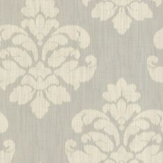 I pinned this Ikat Medallion Wallpaper from the Design Report: Shades of Grey event at Joss and Main! Create an accent wall or define a room with this gorgeous, classic wallpaper. A textured damask-inspired ikat adorns a light gray backdrop, bringing luscious, elegant design to your powder room or boudoir.