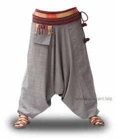 Pantalon Afghan Rayonne - #Afghan #Pantalon #Rayonne