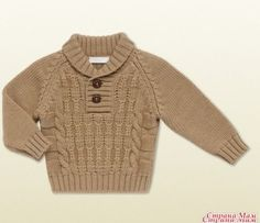 Gucci Baby Boy Sweater I want this for my son! - Gucci Baby Clothes - Ideas of Gucci Baby Clothes - Gucci Baby Boy Sweater I want this for my son! Baby Boy Sweater, Knit Baby Sweaters, Boys Sweaters, Gucci Baby Clothes, Baby Kids Clothes, Baby Boy Knitting Patterns, Knitting For Kids, Gilet Crochet, Sweater Design