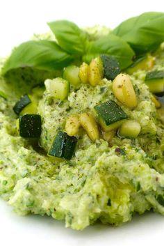10-Minute Basil Zucchini Spread
