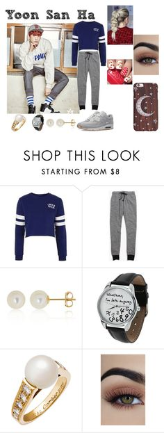 """""""Yoon San Ha"""" by itz-meh-liz on Polyvore featuring Topshop, Madewell, NIKE, Belk & Co. and Cartier"""