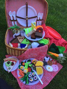 Felt picnic fun. Place orders...FeltSewReal@aol.com