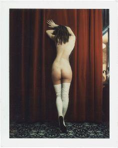CARLO MOLLINO, Untitled, c. 1962–73, Polaroid, 3 1/4 x 4 1/8 inches (8.3 x 10.5 cm) © Carlo Mollino / Gagosian Gallery