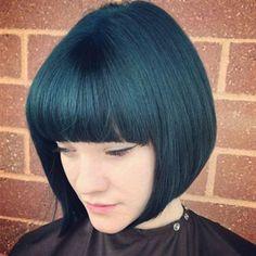 Emerald City Formula: pravana green pravana blue pravana violet yes this is what i want. Green Hair, Blue Hair, Lilac Hair, Pastel Hair, Zooey Deschanel, Pravana, Cabello Zayn Malik, Audrey Hepburn, Hair Color And Cut