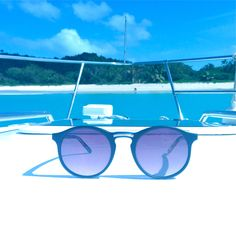 Boat day anyone? Look at life differently through our smoke lenses from http://www.stapleandford.com #sunglasses #sun #boats #daytrip #caribbean #beach #follwme