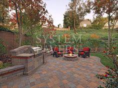 Backyard Pavers Firepit Design Trends