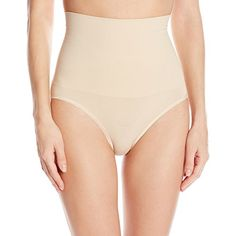 Leading Lady Womens Shapewear Brief with Tummy Control Naturally Nude 2X ** Check out the image by visiting the link. (Note:Amazon affiliate link)