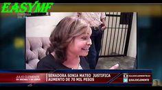 VIDEO:Senadora Sonia Mateo dice que su salario no le da ni para comprar ...