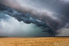 Whale's mouth #2 - One Minute before the Whales Mouth showed up. This supercell caused a lot of damage later on in Saxony-Anhalt. We were safe... and had the best storm chasing on that day so far. Sept 11th 2011. Thuringia | Germany. (c) Marco Rank www.mrdreamor.de