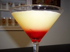 Over the years, I have had several opportunities to make martinis, shots, and cocktails, but the pineapple upside-down cake martini and shot really takes the upside-down cake.