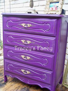 Vintage French Provincial Painted Chest of Drawers - MADE TO ORDER. $600.00, via Etsy.